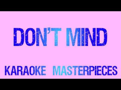 Don't Mind (Originally by Kent Jones) [Instrumental Karaoke]