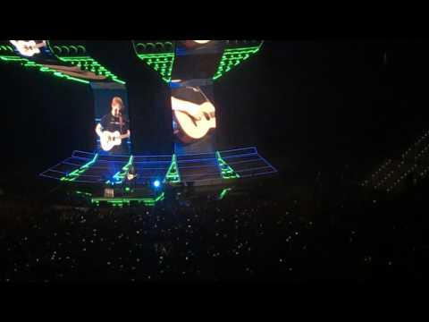 NANCY MULLIGAN live Ed Sheeran - Divide Tour @Turin Torino - 17th March 17/03