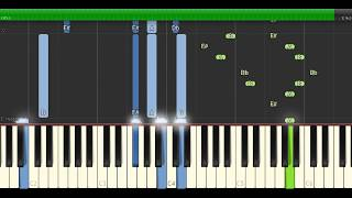"Erik Hassle - ""No Words"" Piano Tutorial - Chords - How To Play - Cover"