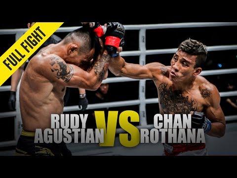 Rudy Agustian Vs. Chan Rothana | ONE Full Fight | May 2019