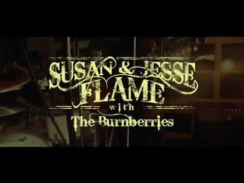 """Susan & Jesse Flame with the Burnberries live @VioletFlameStudios """"the fortune in you"""""""