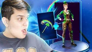 I BOUGHT THE LENDARIA SKIN OF LUCK AT FORTNITE ‹ JUAUM ›