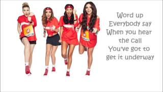 Word Up! Little Mix - Karaoke lyrics (Instrumental)