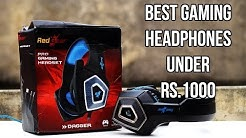Best Gaming Headset under Rs.1000 {HINDI} Redgear Dagger Professional Gaming Headphones Review
