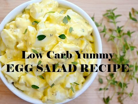 Low Carb Recipe VSG Friendly Pureed Egg Salad Yum