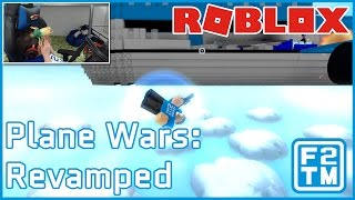 Roblox PvP with Planes in Roblox Plane Wars Revamped
