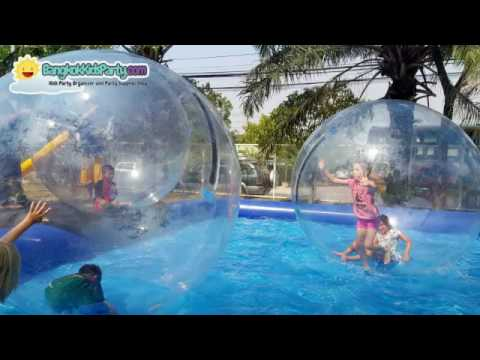 WATERBALLS WITH POOL - WWW.BANGKOKKIDSPARTY.COM