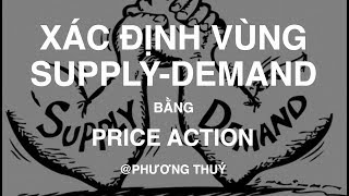 Học Price Action | Xác định vùng Supply Demand bằng Price Action