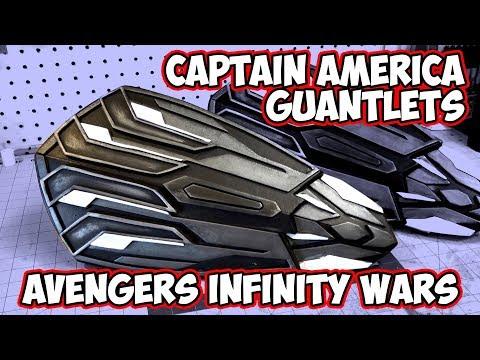Captain America Shield Gauntlets from Avengers Infinity Wars