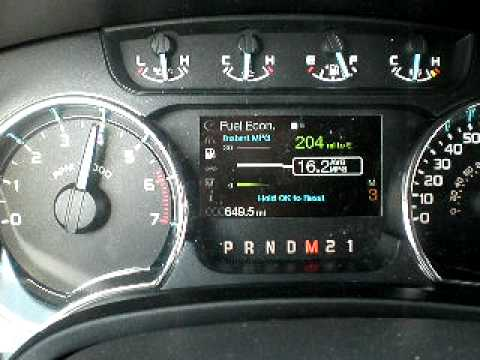 2011 Ford F-150 FX4 EcoBoost Full speed run manual shift