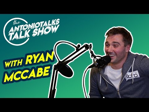 The Antonio Talks Talk Show w/Ryan McCabe/Video Innovation of Recruitment/E06