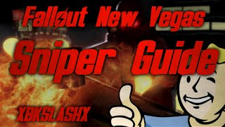 Fallout New Vegas - Sniper Tips & Character Guide (Anti-Material Rifle Location)