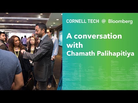 Bloomberg Cornell Tech Series: A Conversation with Chamath P