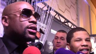 Floyd Mayweather Jr.: the McGregor fight could be the biggest fight in history