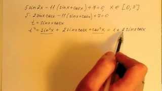 Подготовка к ЕГЭ по математике. Задание С1 (видео 6)