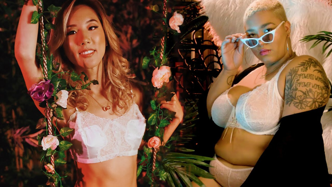 Women Try Rihanna's Size Inclusive Lingerie Line