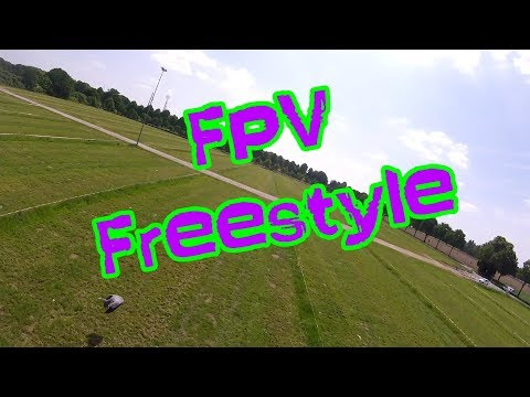 FPV Drone Freestyle - Flying @my Homespot // HD