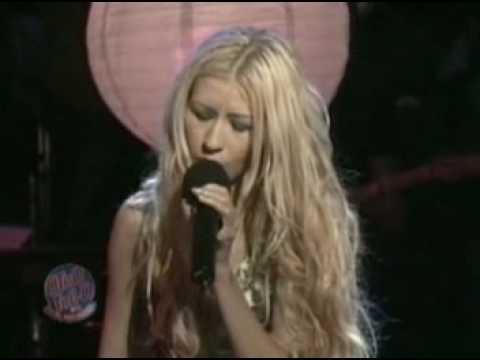 Christina Aguilera - Pero me acuerdo de ti (live @ otro rollo 23th jan 01)