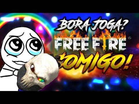 FREE FIRE : JOGANDO COM INSCRITOS COLA AE