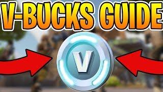 HOW TO SPEND VBUCKS - ( WHICH SKIN TO CHOOSE IN FORTNITE BATTLE ROYALE! ) - Fortnite Vbucks Guide