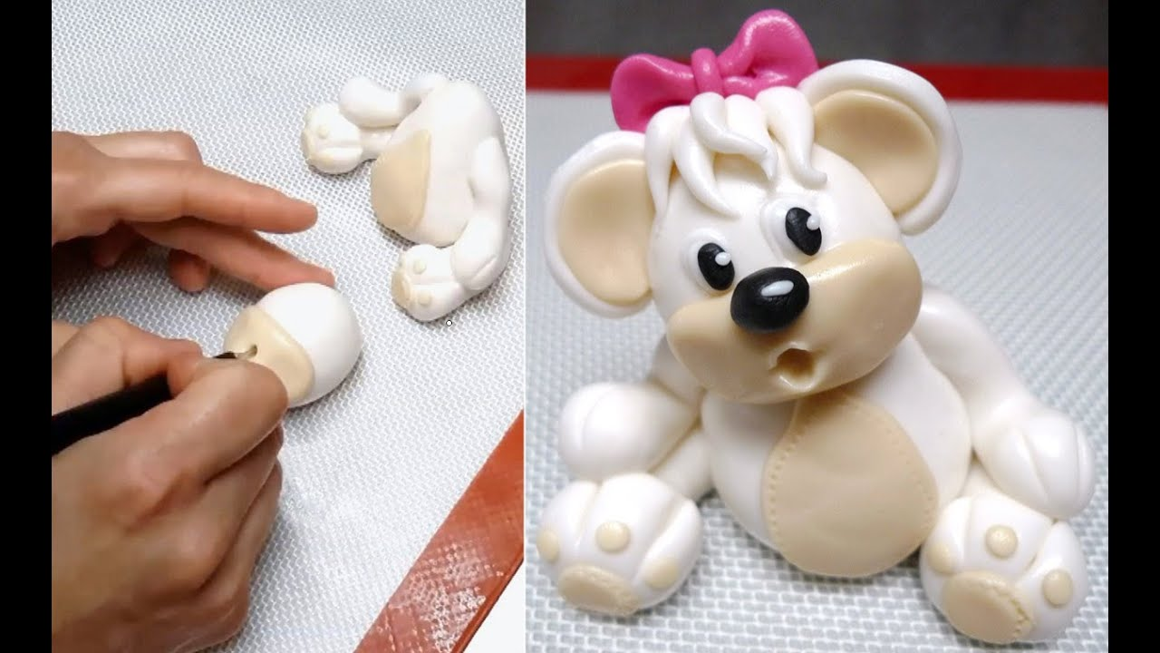How To Make Teddy Bear Cake Decoration