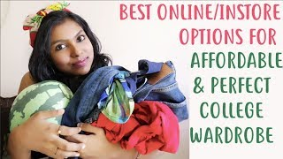 How to Get the Perfect & Affordable College Wardrobe - Best Brands Online & Instore | AdityIyer