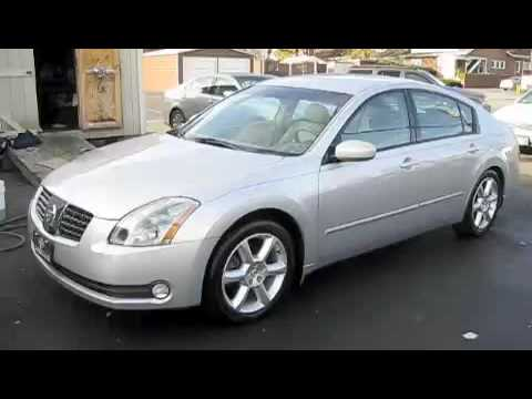2004 Nissan Maxima 3 5 Se Start Up Engine And Full Tour Youtube