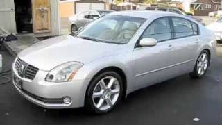 2004 Nissan Maxima 3.5 SE Start Up, Engine, and Full Tour