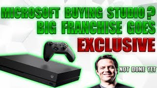 NEW LEAK Shows Microsoft Is Buying A New AAA Studio! Major Franchise Becomes Xbox Exclusive!