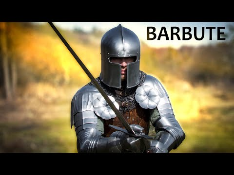 How to make barbute. One-piece forged helmet.