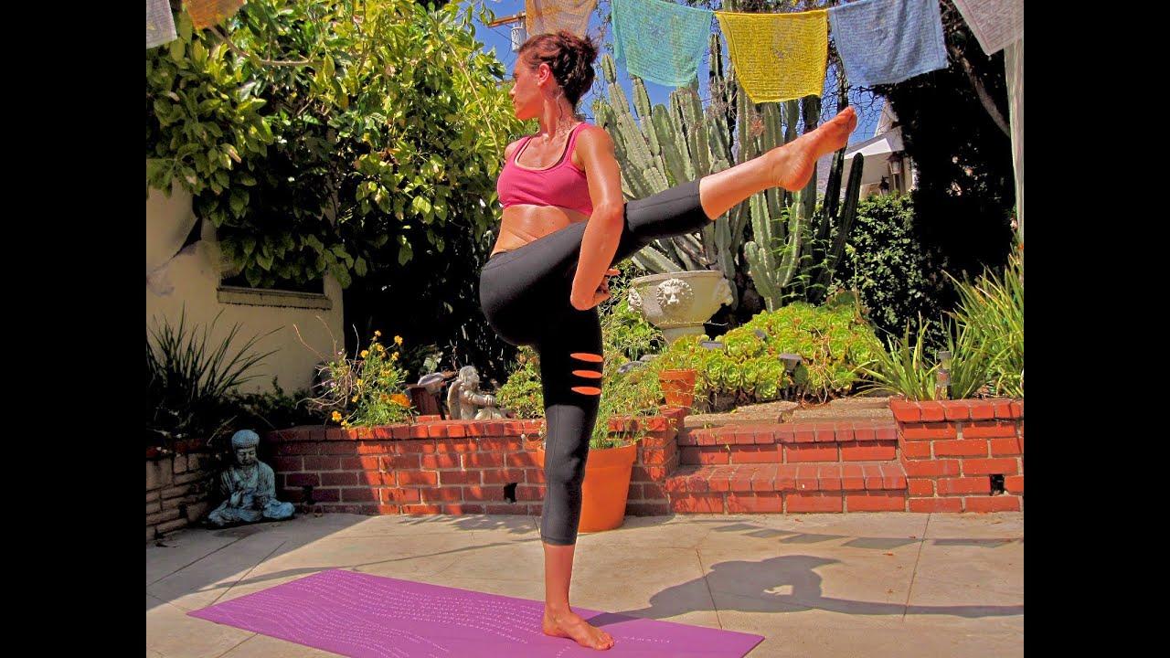 Advanced 1 hr  Vinyasa yoga Workout Created by Ali Kamenova