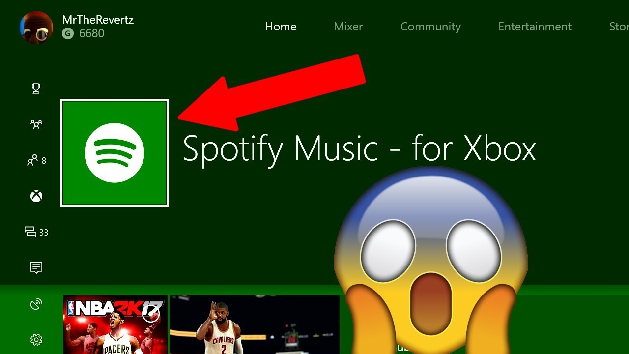play spotify on xbox one from iphone