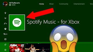 "How To Download + Use ""Spotify"" On The XBOX ONE!!! (Play Background Music While You Game!)"