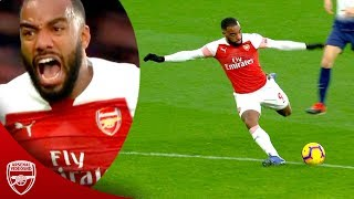 8 Times Lacazette Saved Arsenal In Big Games