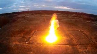 Поджигаем 25000 бенгальских огней. Что будет, если поджечь 25000 бенгальских огней. Новый рекорд.