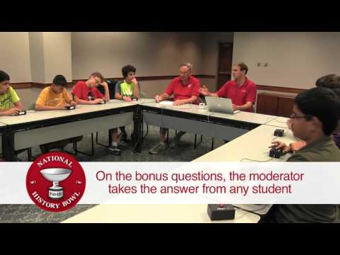 Demo Quiz: National History Bowl