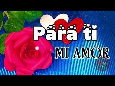 Mensaje Para Mi Amor A Distancia Con Música Romántica HERMOSO Imágenes De Amor A La Distancia Te Ext