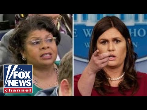 Sanders fires back at April Ryan's 'ridiculous question'
