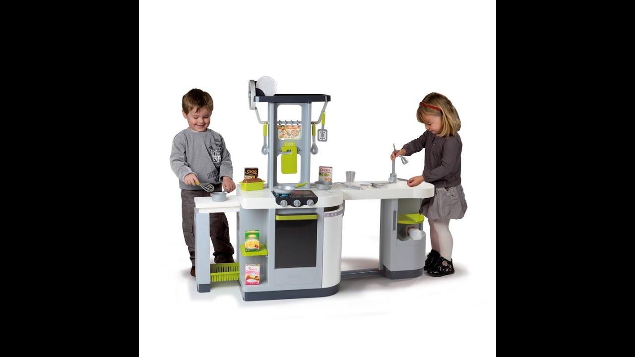 Детская кухня Smoby 024131 Cuisine Loft Kitchen - YouTube