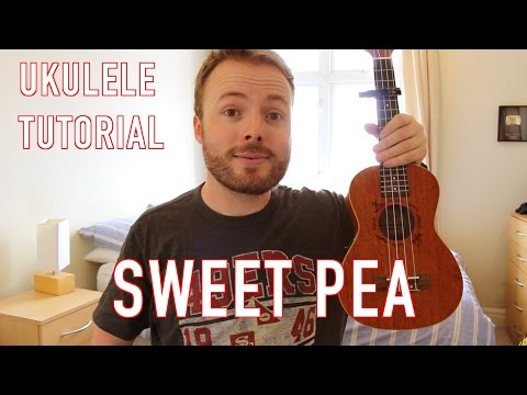Sweet Pea - Amos Lee (Ukulele Tutorial)