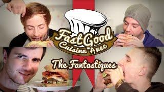 FastGood Cuisine avec : Amixem, Sup3r Konar, Kalipso53 et Psyko17