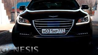 Тест драйв Hyundai GENESIS. ЛУЧШЕ ЧЕМ BMW 5 смотреть