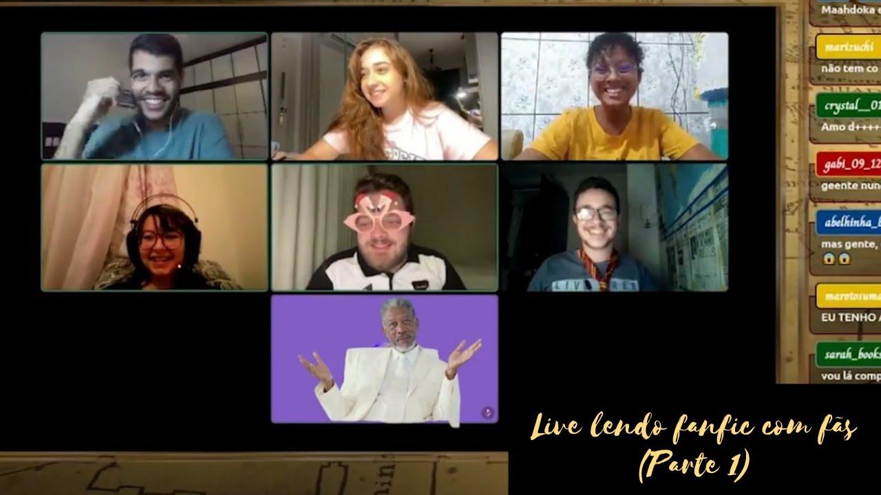 Live Lendo Fanfic com fãs (Parte 1)