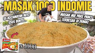 Download lagu HAMPIR JATUH KE PANCI! MASAK 1000 INDOMIE PAKAI PANCI RAKSASA UNTUK WARGA BALI!
