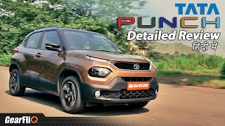 Download Tata Punch - Most Detailed Review | Off-Roading, Mileage, Features | Hindi | GearFliQ