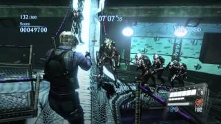 RESIDENT EVIL 6 PS4 mercenaries no mercy as LEON - creature workshop