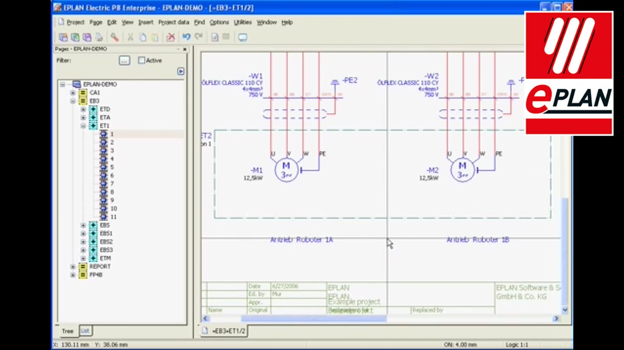 Tutorial eplan electric p8 dynamic forms youtube for What is eplan software
