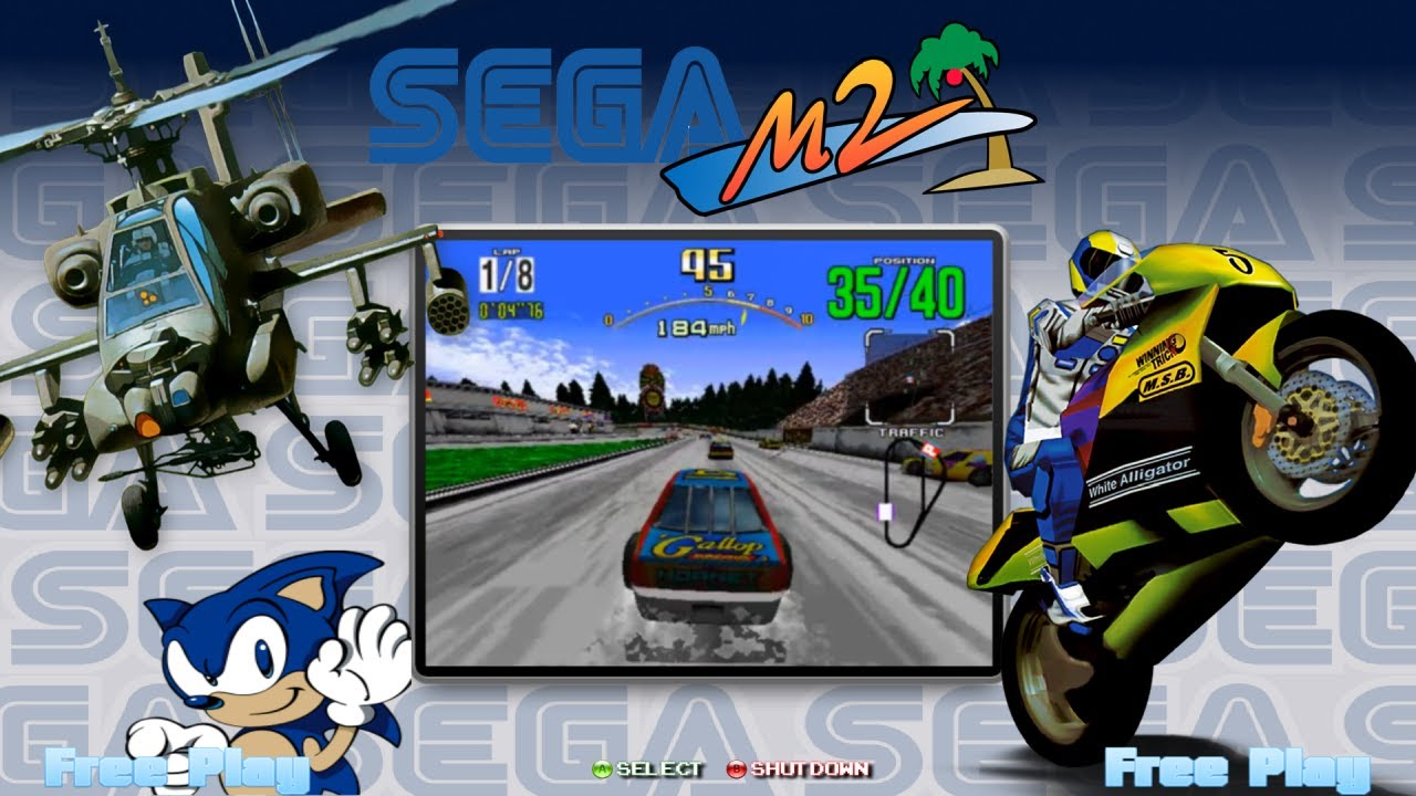 HyperSpin Box - Sega Model 2 (ShowCase)