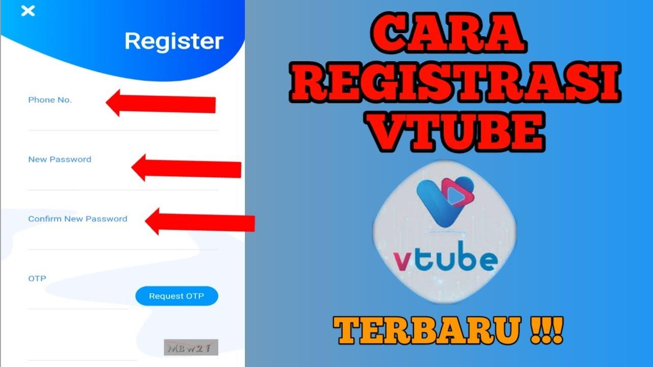 Cara Registrasi Vtube Terbaru Youtube