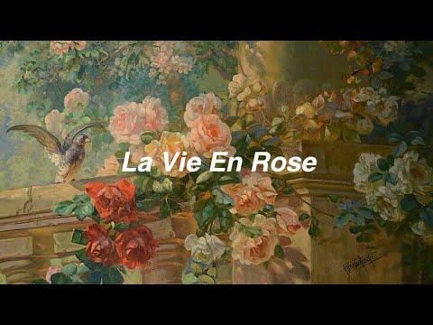 Louis Armstrong // la vie en rose [Lyrics]